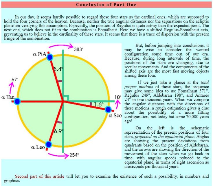 4 Royal Stars Cardinal Cross Haluk Akcam pt1 conclusion OFFSET CROSS