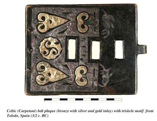 MEME Celtic belt plaque